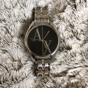 AX woman's watch embellished with crystals